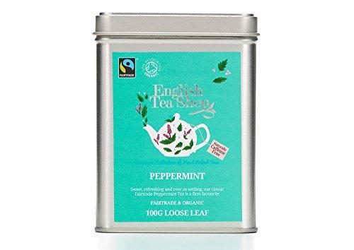 English Tea Shop - Pfefferminze, BIO Fairtrade, Loser Tee, 100g Dose