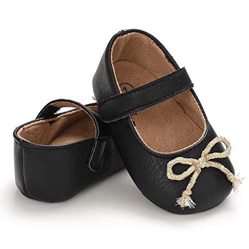 Matt Keely - Zapatos de bebé con suela suave para bebé, para el primer caminante, para niñas y niños