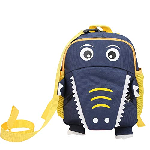 Parluna Soft And Dirt‑Resistant Preschool Backpack, Storing Children'S Daily Necessities Kids Backpack, Reduce The Baby'S Stress Cute 3D Shape for Kid Children(Navy blue)