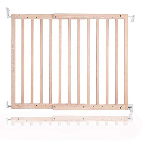 Safetots–Tornillo de madera para puerta de seguridad, Natural, 63,5a 105.5cm
