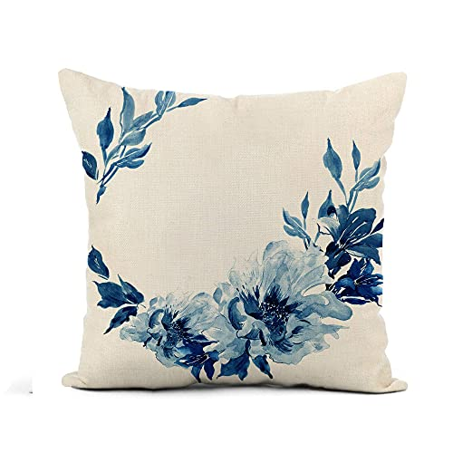 Cojines Cama Azul Cobalto cojines cama  Marca 521