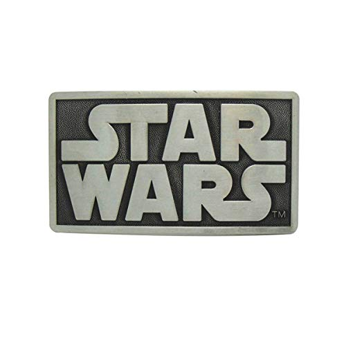 JiuErDP American Vintage Star Wars Inglés Carta Hebilla de cinturón de Hebilla de cinturón de la Hebilla de la Vendimia Estadounidense Belt Hebillas de cinturón (Color : Star Wars, Size : 1.5in)