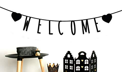 MIK funshopping - Guirnalda con Letras Personalizables para cumpleaños, Bodas, Fiestas, Despedidas de Soltero, 105 Piezas, de Papel