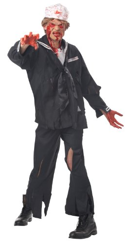 California Costumes mens Navy Adult Sized Costumes, Black, Large US