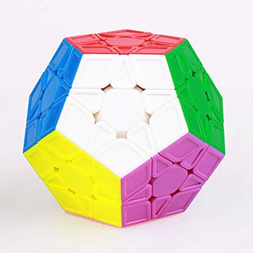 XJZKA Rubik'S Cubecube Cubos mágicos de Velocidad Profesional Cubo sin Pegatinas Juguetes...