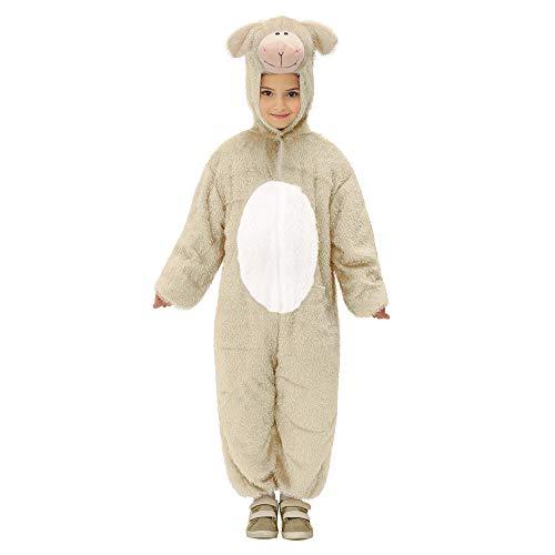 WIDMANN Widman - Disfraz de oveja para niña, talla 5 - 8 años (9787L)