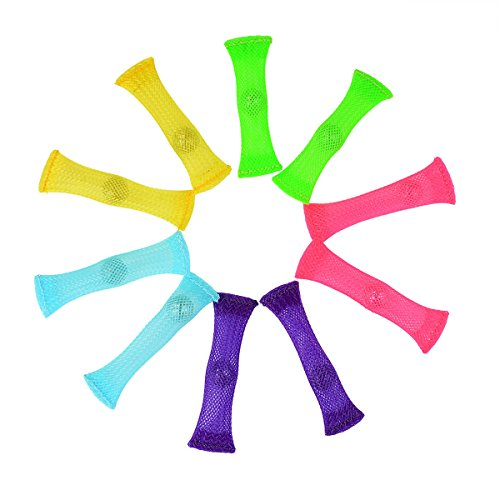 FIDGET TOYS(Package of 10 5 colors) Stress Relieve toy Focus Enhance Soothing Marble Fidgets for Children and Adults has helped with ADHD ADD OCD Autism Depressions and Anxiety disorders