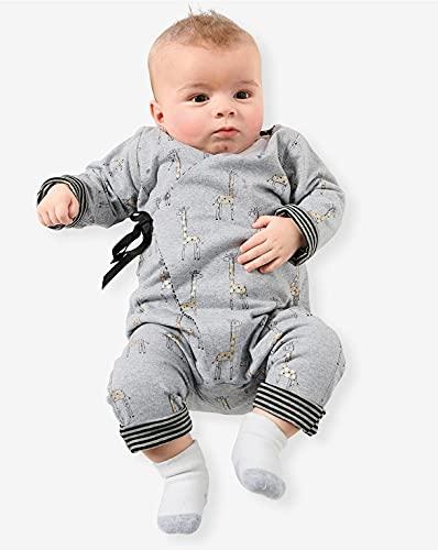 Burda Schnittmuster 9314, Stampler [Baby 56-86] zum selber nähen, ideal für Anfänger [L2]