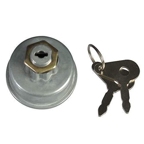 Zündschloss 6 polig Glühschalter Glühanlassschalter Zündschalter Glühzündschalter inkl. 2 Schlüssel