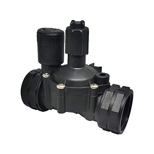 Riegopro Electroválvula de Paso Total 24V A.C con regulador de caudal. Presión mínima de Funcionamiento 1 Bar. (1 1/2