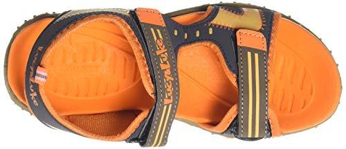 Footfun (from Liberty) Unisex Orange Fashion Sandal