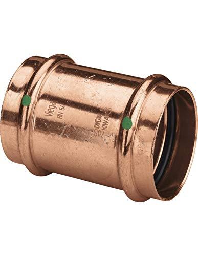 Viega Profipress Schiebemuffe 2415.3 Kupfer, SC-Contur 18 mm, 461263