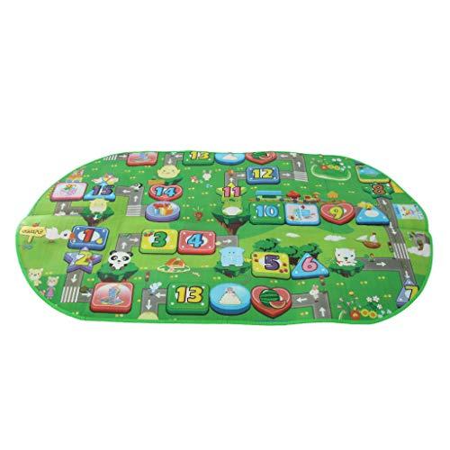 Générique Sharplace Tapis EVA Coussin Tapis de Sol pour Enfants Tapis de Jeux et d'Eveil Tente Maison 182 x 96cm