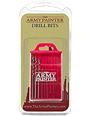 The Army Painter Drill Bit Set - Set of 10 Small Drill Bits for Miniature and Model Pin Vise Hand Drill - Wargamers Pin Set for Plastic, Resin, and Metal Miniatures