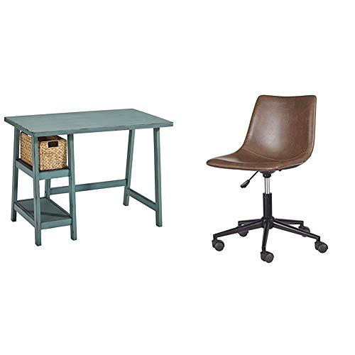 Signature Design by Ashley Mirimyn Home Office Small Desk Multi & Office Chair Program Home Office Swivel Desk Chair Multi