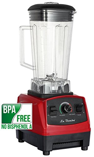 La bomba® Competizione de alto rendimiento Licuadora Rosso/rojo, profesional smoothiemaker, Blender, 1500W, 32000RPM