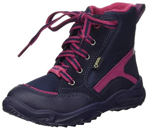 Superfit Dziecięce buty zimowe dla dziewczynek Glacier_gore-tex, niebieski - Niebieski czerwony 8010-23 EU