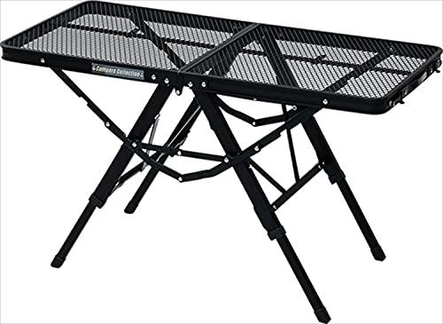 キャンパーズコレクション タフライトアクションテーブル ブラック TAT-8640(MBK)