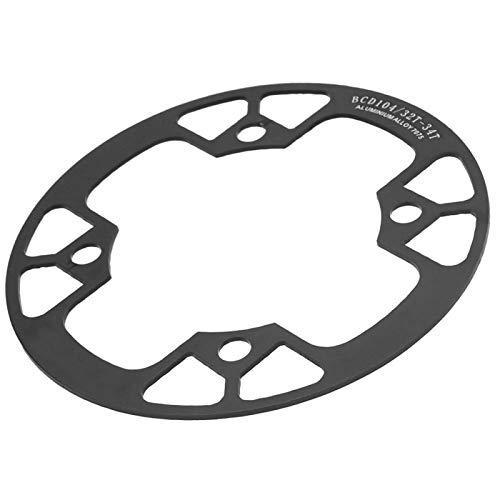 Shipenophy Cubierta de protección de Juego de bielas de Rueda de Cadena de Bicicleta de fácil instalación Cubierta Protectora de Cadena de Bicicleta de aleación de Aluminio para Bicicleta de montaña