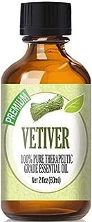 Vetiver Essential Oil - 100% Pure Therapeutic Grade Vetiver Oil - 60ml