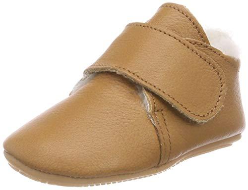 Däumling Unisex Baby Luca Sneaker, Braun (Nappa Cf Sattel 35), 18 EU