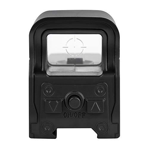 Alomejor Visor holográfico Punto Verde Visor óptico Reflejo con Punto de luz Verde de Carril de 21-23mm para Pistola de Bolas de Gel de Agua