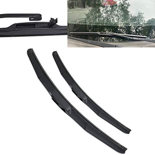 CHENWEI- Cuchillas de limpiaparabrisas delanteras del coche Plaza de limpiaparabrisas de parabrisas para su Subaru Outback (Color : 2003 2009)