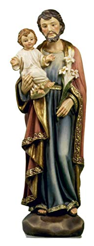 Paben Statue St. Josef aus Kunstharz, 20 cm
