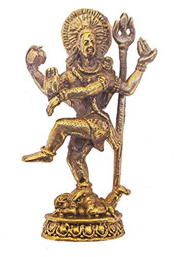 Nagapatches Figura Shiva Bronce Hinduismo Dios Yoga