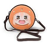 Himouto! Umaru-chan - Cartera de mensajero para niña pequeña con un solo hombro para mujer, diseño de verano