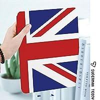 iPad 2/3/4 対応 2つ折りケース スタンド機能 オートスリープ超薄型 傷つけ防止ケース 手帳型カバー 環境にやさしい材質古典的な伝統的な旗イギリス現代イギリスの忠誠心シンボル装飾