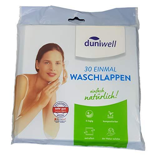 Duniwell Einmal Waschlappen 30-Stück-Packung