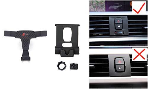 Soporte Móvil Coche para Serie 3 F30 / Serie 3 GT F34 / Serie 4 F32 2013-2018 Supporto Auto Smartphone 360 Gradi di Rotazione Porta Cellulare Auto telefoni