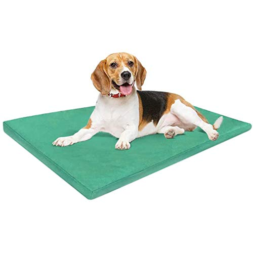 ADOV DOG Bed Medium, Waterproof Pet Bed, Premium Double-Sided and Washable Cover, Orthopaedic Foam Dog Bed Mat, Medium Kennel Pads for Dogs, Cats, Other Small and Medium Sized Pets - (84 x 54cm)