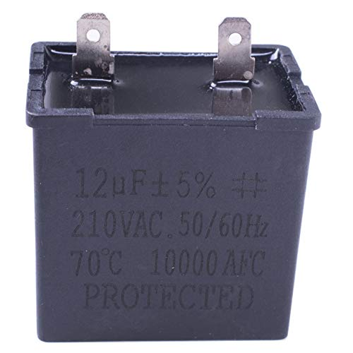 NEW Replacement Run Capacitor compatible for Whirlpool,Amana, Kenmore, Modern Maid, Caloric Refrigerator and Freezer Compressor W10662129