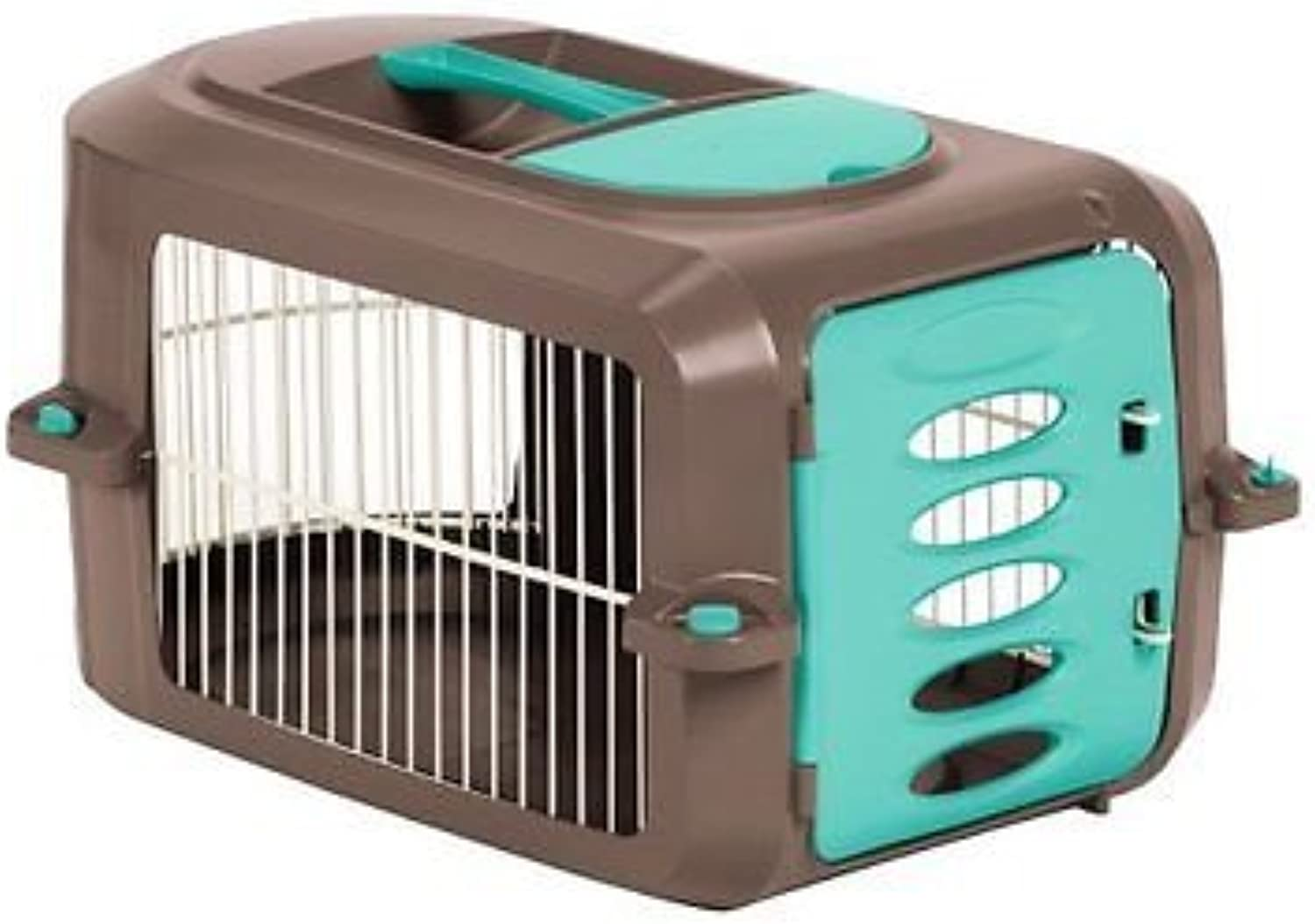 Generic ty Cat Do Travel Safety Cat Dog Set Water Bowl Safety Small Pets Carrier er Bowl Tr Security Cat Dog Set ier Cage Food Wa Cage Food