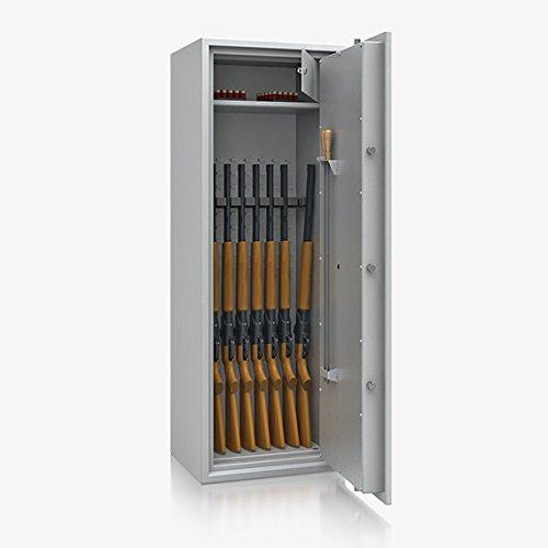 Waffenschrank Waffentresor Klasse 1 I ,1470x520x415mm, 8 Waffenhalter