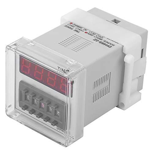 Relé de Tiempo de Temporizador de Pantalla Digital de 8 Pines para Control de Retardo de Tiempo Dh48s-2Z 220V
