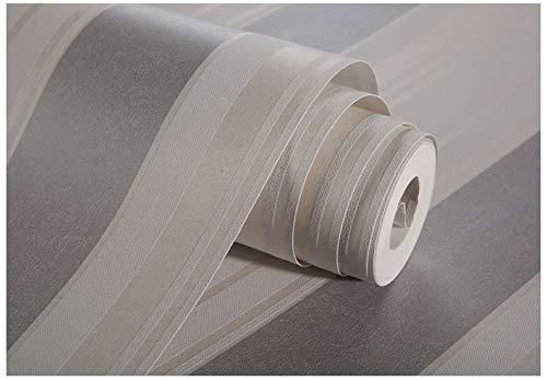 Tapete moderne minimalistische graue Streifen Vliestapete Rolle für Inneneinrichtung Hotel Büro Wohnzimmer Küche