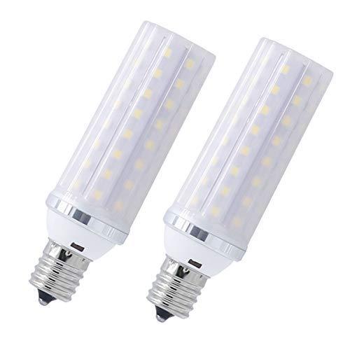 LED電球 E17 口金直径17mm 100W - 120W 形相当 12W E17 LED 昼光色 1000-1200ルーメン 広配光タイプ 高輝度 長寿命 断熱材施工器具対応 省エネ 2個セット