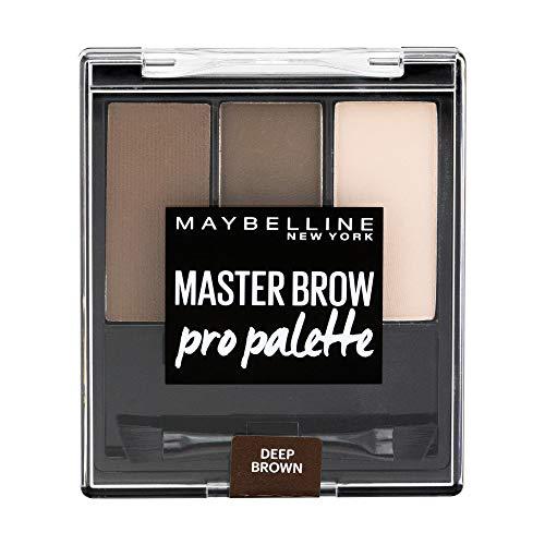 Maybelline New York Kit Sopracciglia Definite, Brow Drama Pro Palette, Deep Brown