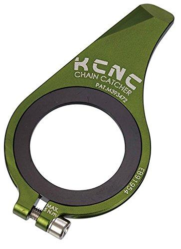 KCNC 自転車 軽量 チェーン外れ 脱落防止 チェーンキャッチャー 27-25T MTB グリーン 653596