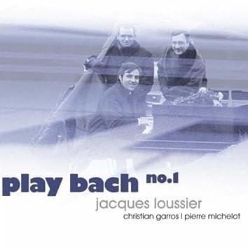 Jacques Loussier - Play Bach No.1