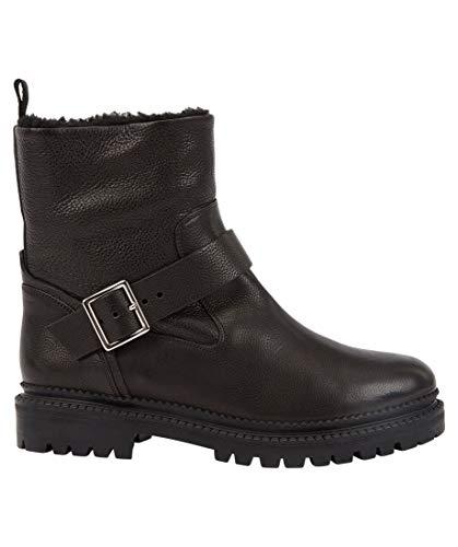 BOSS Damen Boots Rachel Biker-GR schwarz (15) 37
