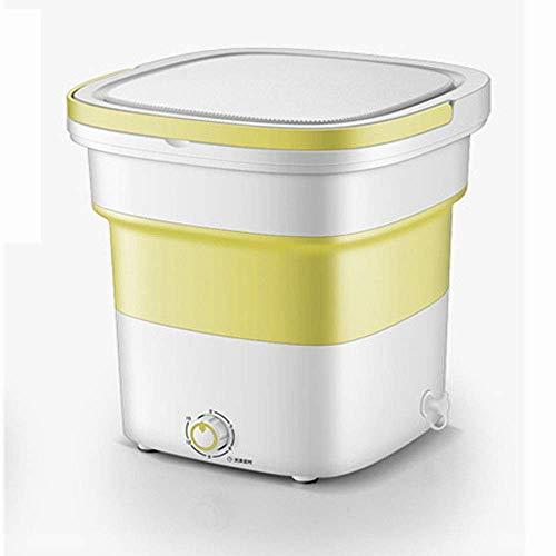 Lavatrice portatile, lavatrice pieghevole, lavatrice da campeggio, centrifuga con timer frutta verdura, giardino esterno da campeggio, aggiornamento verde