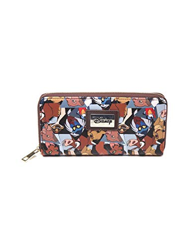 Bioworld - Difuzed Portefeuille Disney ROI Lion, Cartera El Rey León Unisex Adulto, Multicolor (Multicolore), 2.5x11.5x20.5 Centimeters (W x H x L)