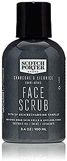 Scotch Porter - Charcoal & Licorice Exfoliating Face Scrub - 3.4 oz.