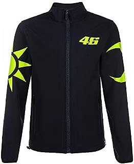 Valentino Rossi VR46 Moto GP Sun & Moon Soft Shell Jacket Black Official 2019