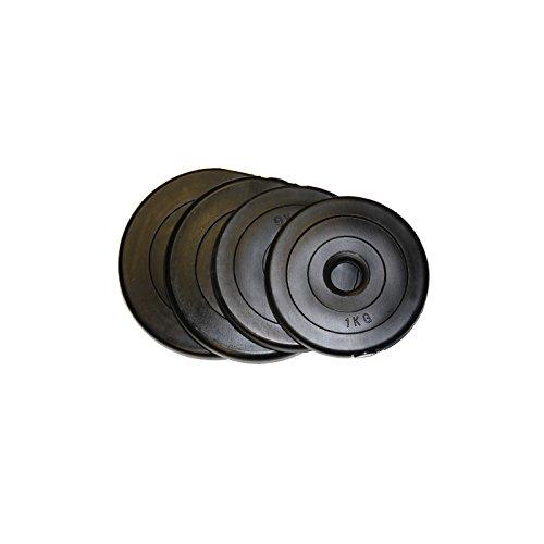 POWER-EXTREME gefüllte Kunststoff/Plastik-Hantelscheibe 30mm (3kg)