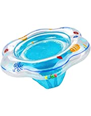 Baby Double Airbags Floating PVC Inflatable Baby Swim Float Seat Swimming Ring